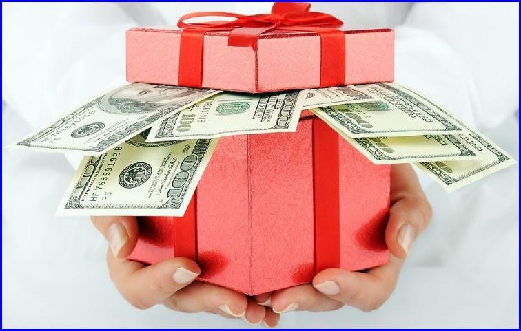 Подарок - бездепозитный бонус