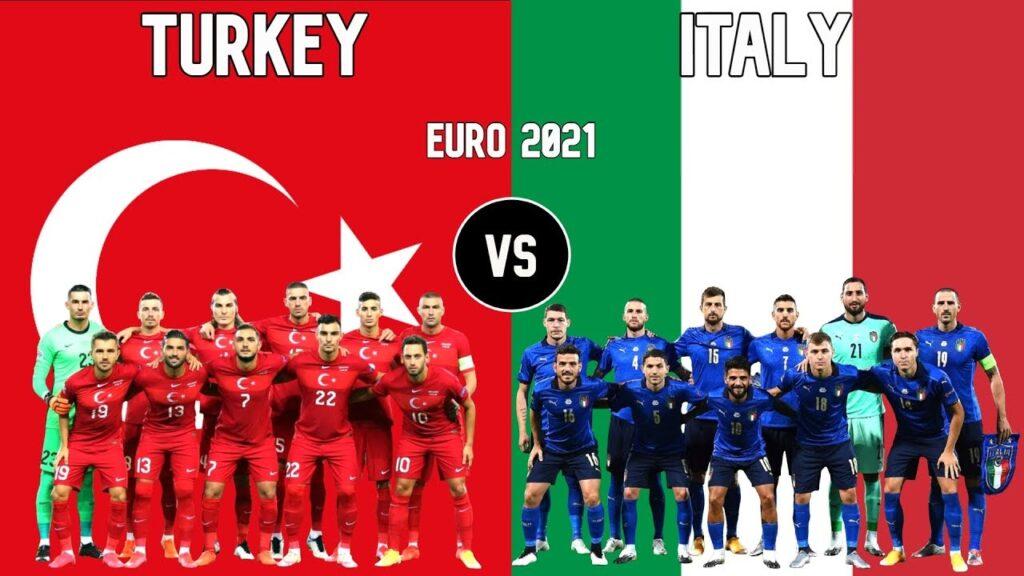Турция - Италия ЕВРО 2021