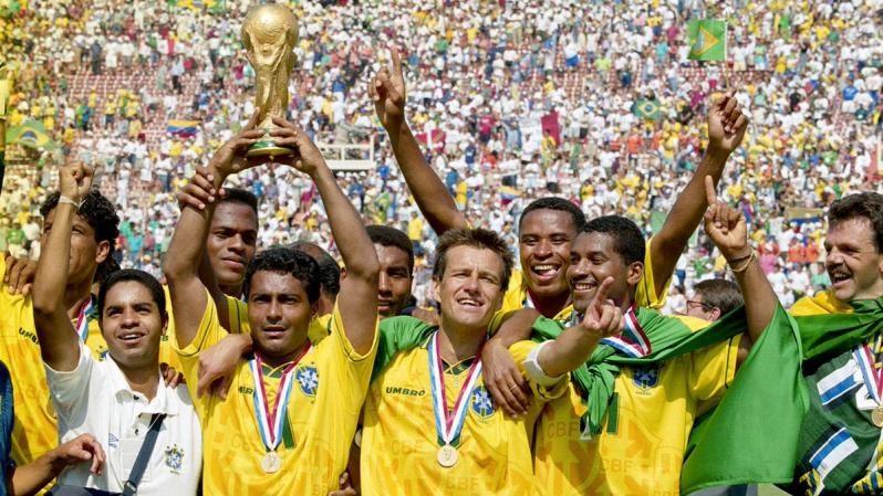 Больше всего побед на чемпионатах мира - Бразилия