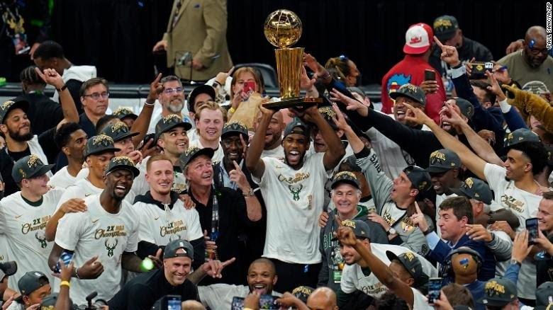 Милуоки Бакс победитель НБА 2021. Ставки на НБА 2022
