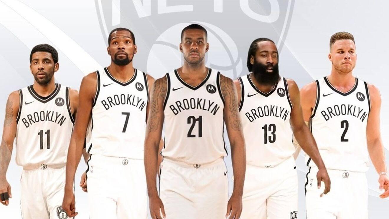 Бруклин Нетс на площадке Cтавки на НБА 2022