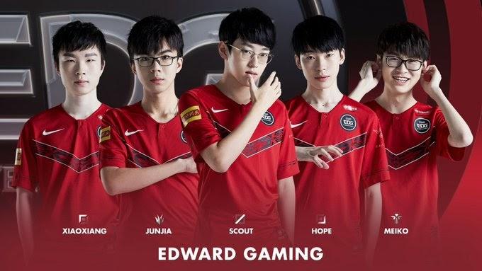 лига легенд Edward Gaming