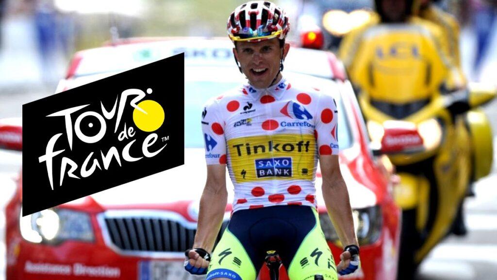 Гороховая майка Тур де Франс 2021