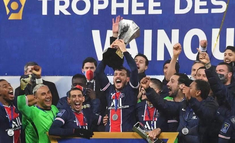 Победитель суперкубка Франции ПСЖ