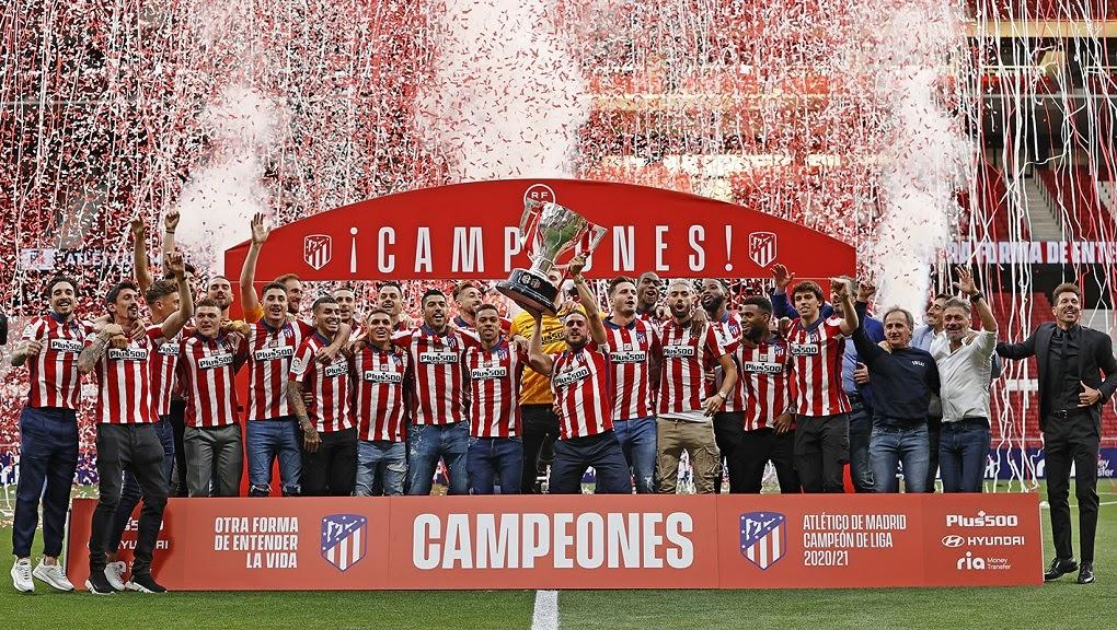 Победитель чемпионата Испании 2021