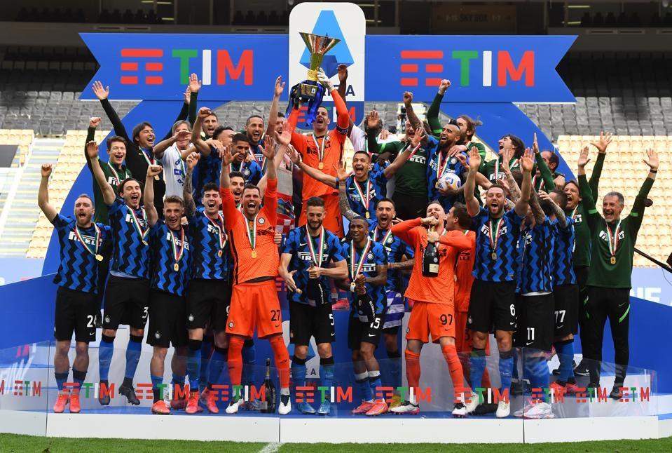 Интер - Победитель Чемпионата Италии 2021