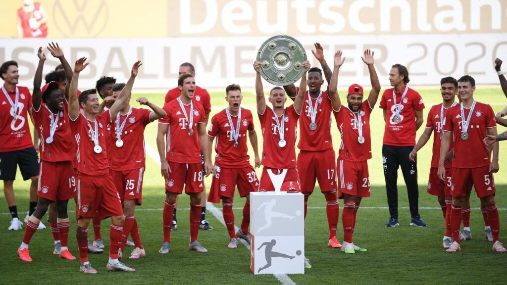 Бавария. Ставки на победу в Чемпионате Германии