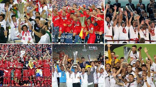 Севилья победитель Лиги Европы 6 раз