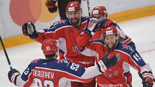 ЦСКА КХЛ претендент на победу 2022