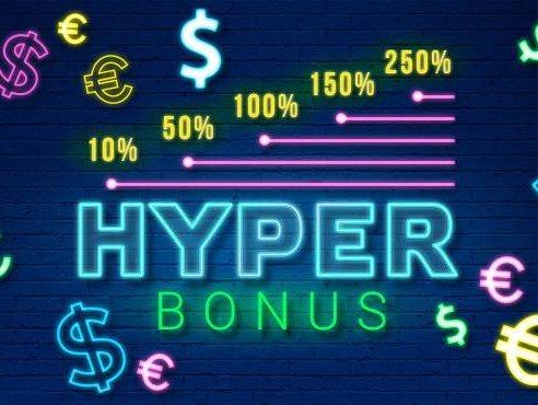 HYPER BONUS  – бонус от 1xBet