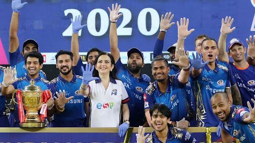 Крикет. Последние победители IPL