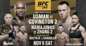 UFC 268: Ставки, превью Усман - Ковингтон 2, кард участников