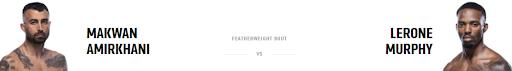 Ставки на UFC 267: Макван Амирхани - Лерон Мерфи