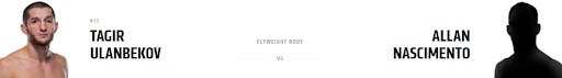 Ставки на UFC 267: Тагир Уланбеков - Аллан Насцименто